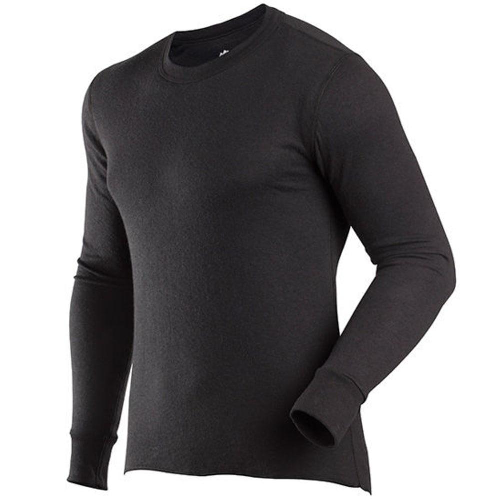 COLDPRUF Men's Basic Thermal Long Sleeve Crew - BLACK