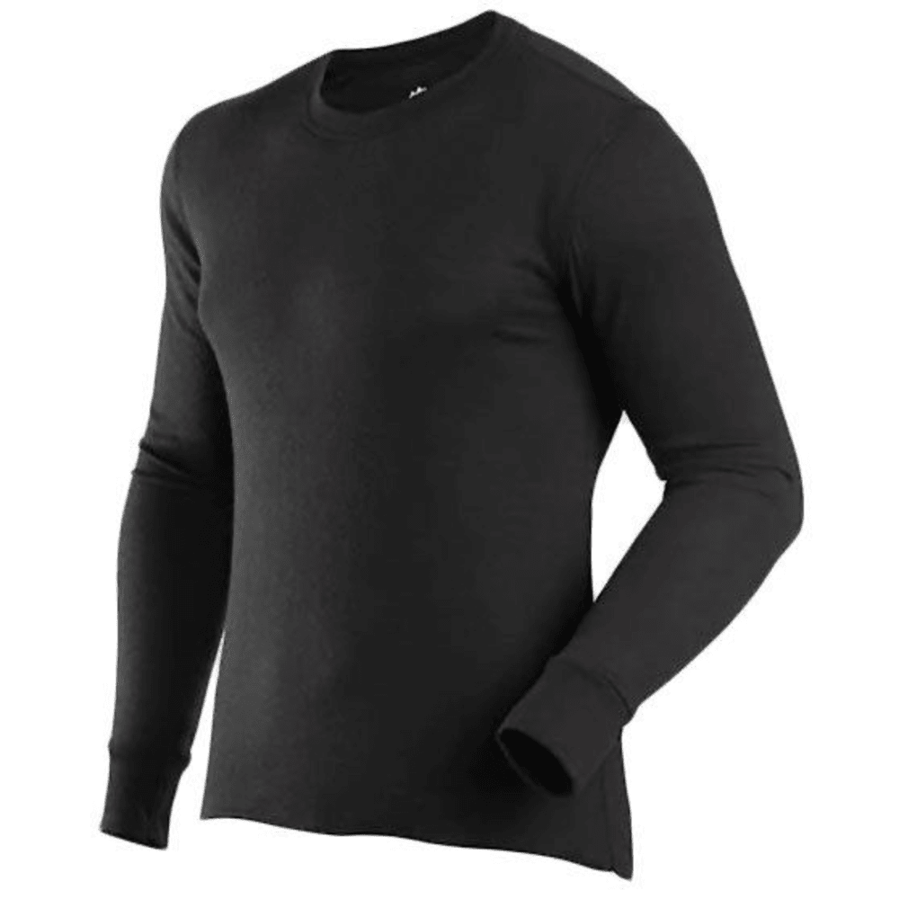 COLDPRUF Men's Platinum Two-Layer Thermal Base Layer - BLACK