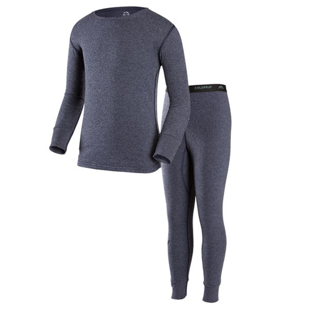 COLDPRUF Boys' Basic Thermal Set - NAVY