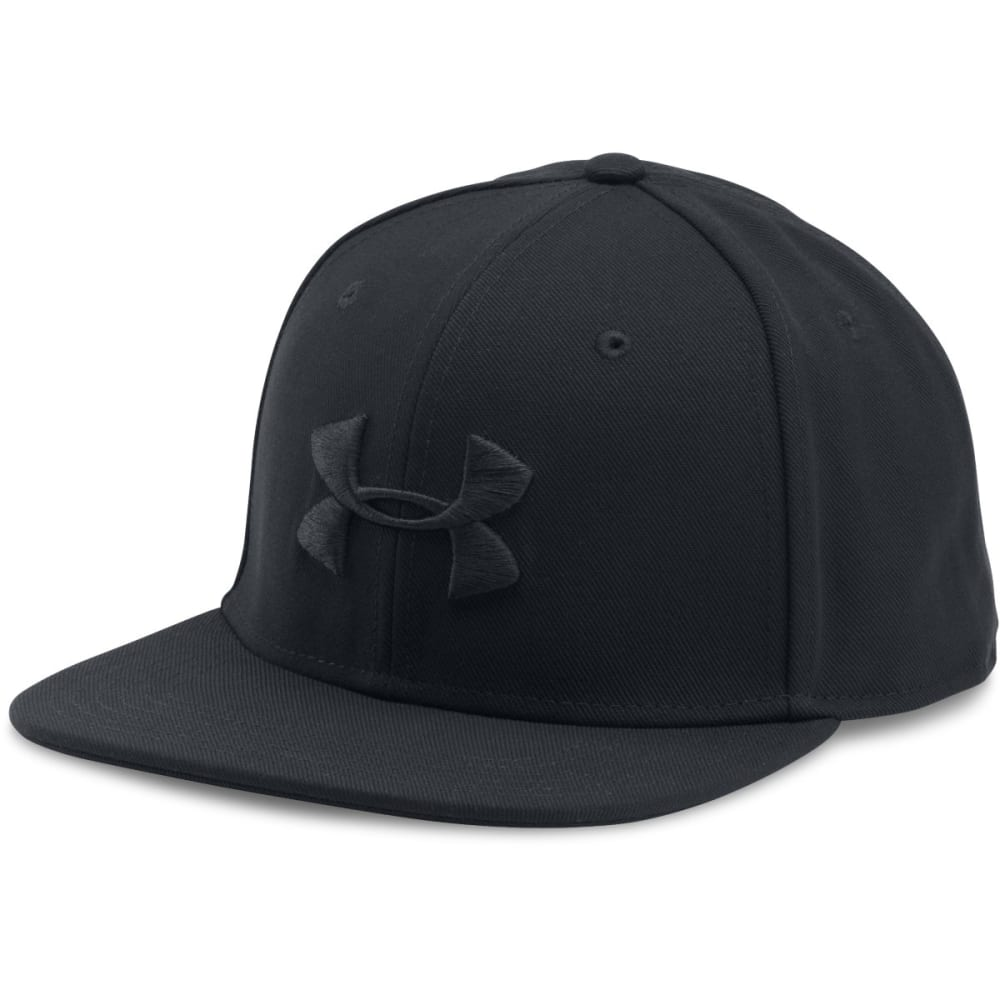 UNDER ARMOUR Men's Huddle Snapback Cap - BLACK-001
