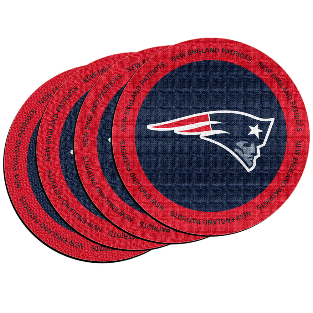 NEW ENGLAND PATRIOTS ROH Coaster, 4 Pack - NAVY