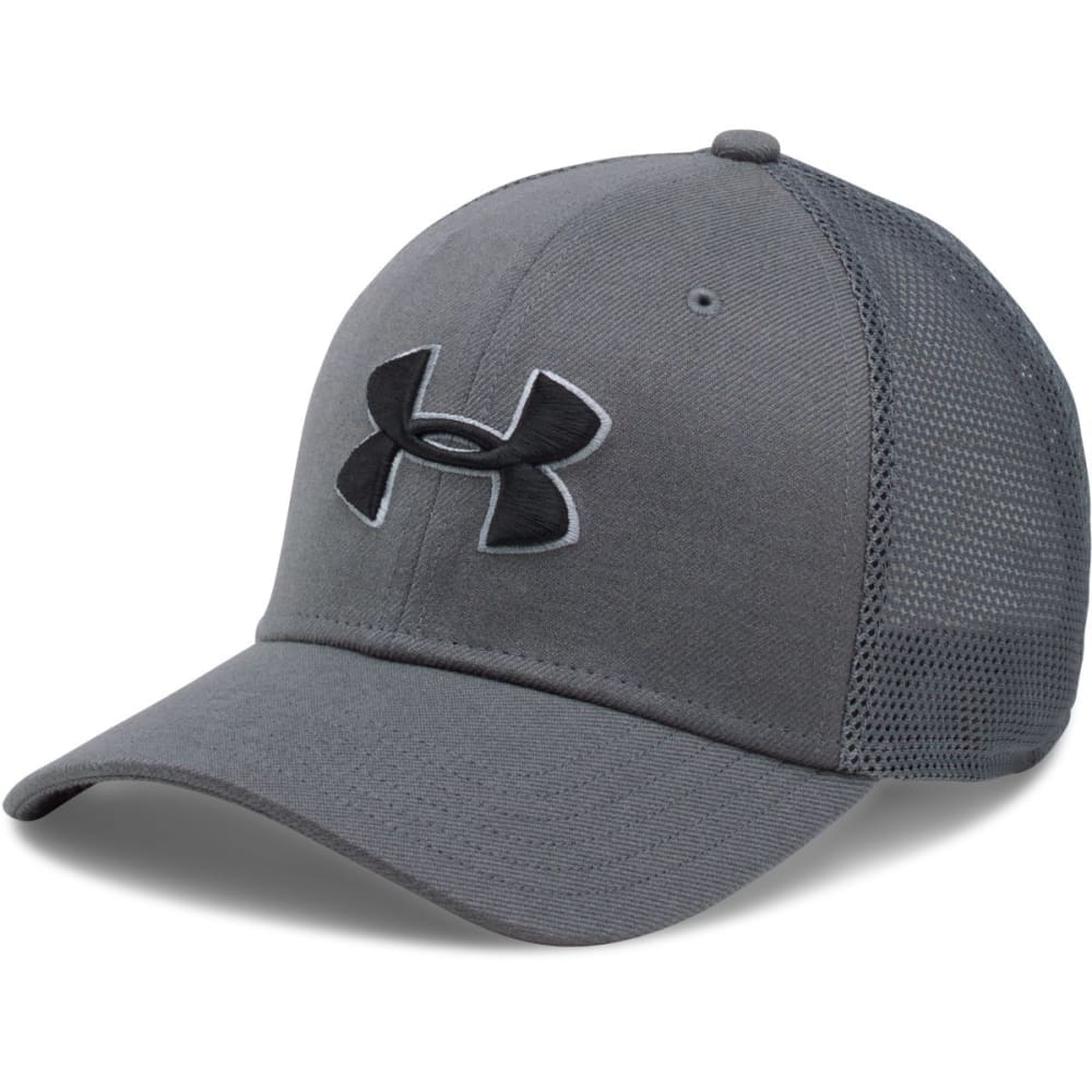 UNDER ARMOUR Men's Closer Trucker Hat - GRAPHITE-040