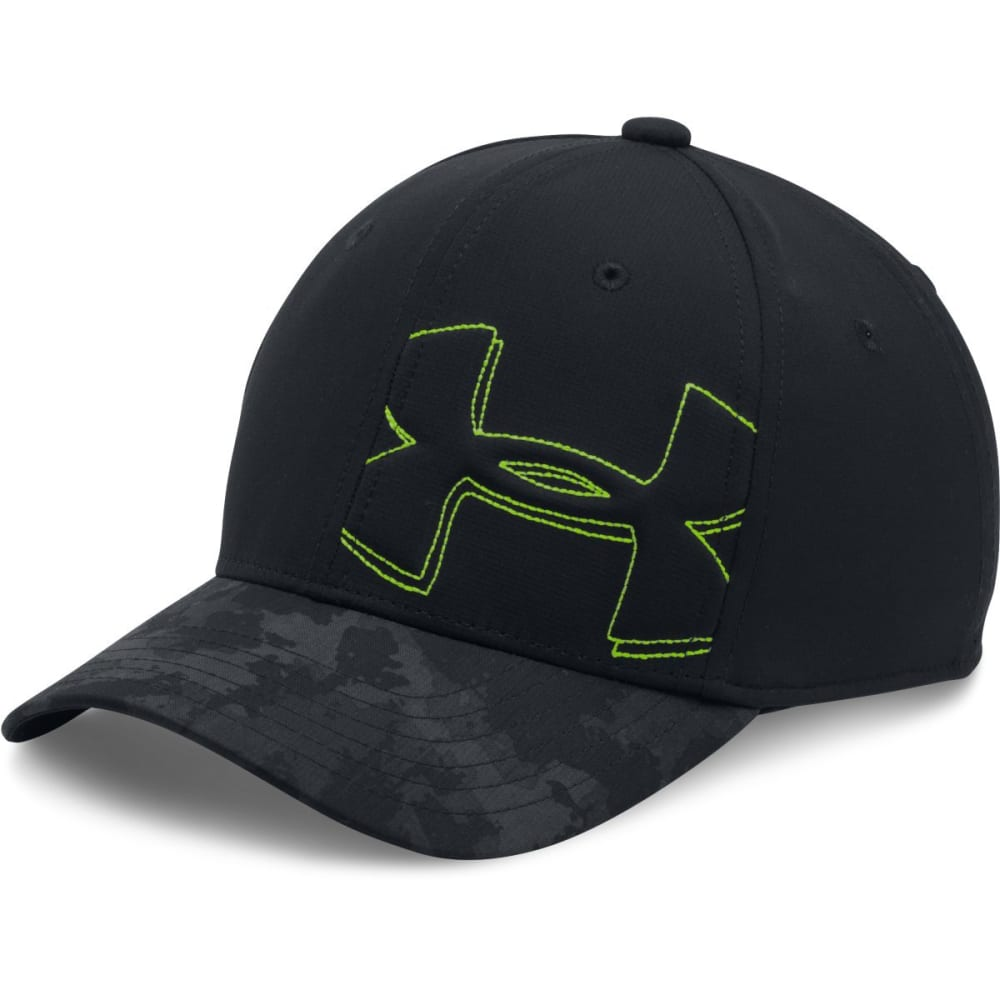 UNDER ARMOUR Boys' Billboard 2.0 Cap - BLACK-001