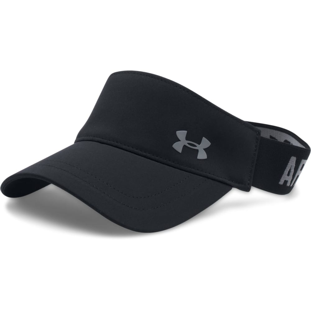 UNDER ARMOUR Women's Visor - BLACK-002