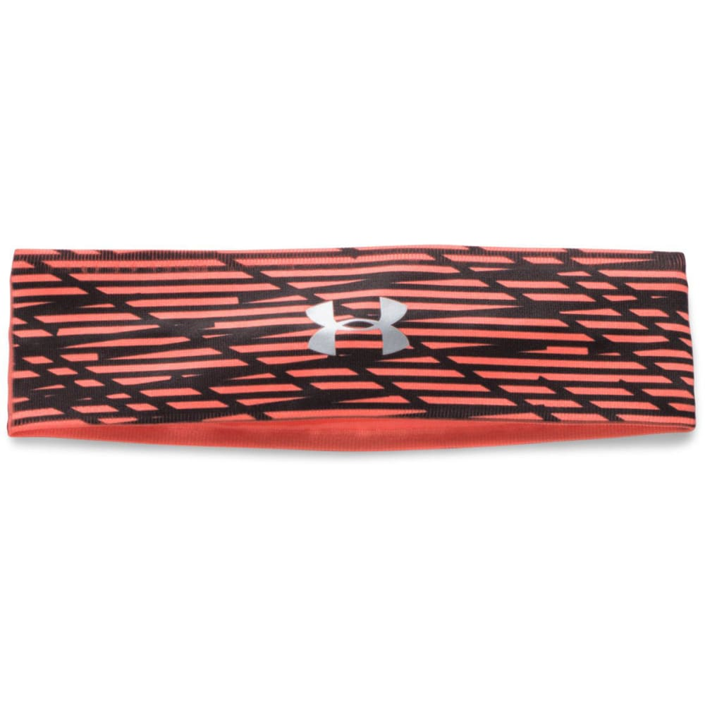 UNDER ARMOUR Women's UA Perfect Headband 2.0 - LONDON ORG PRNT-404