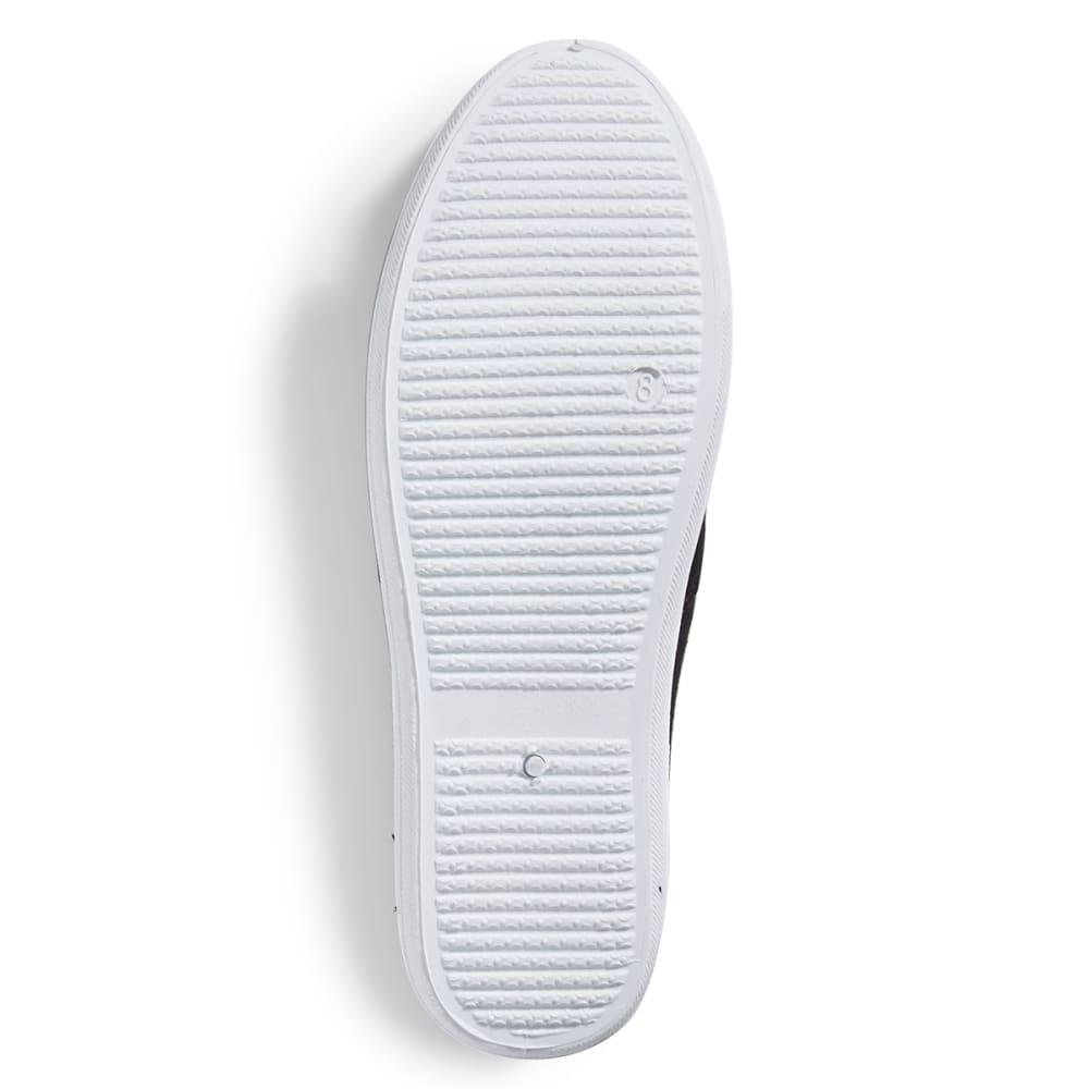 WILD DIVA Women's Marsden Canvas Sneakers - BLACK