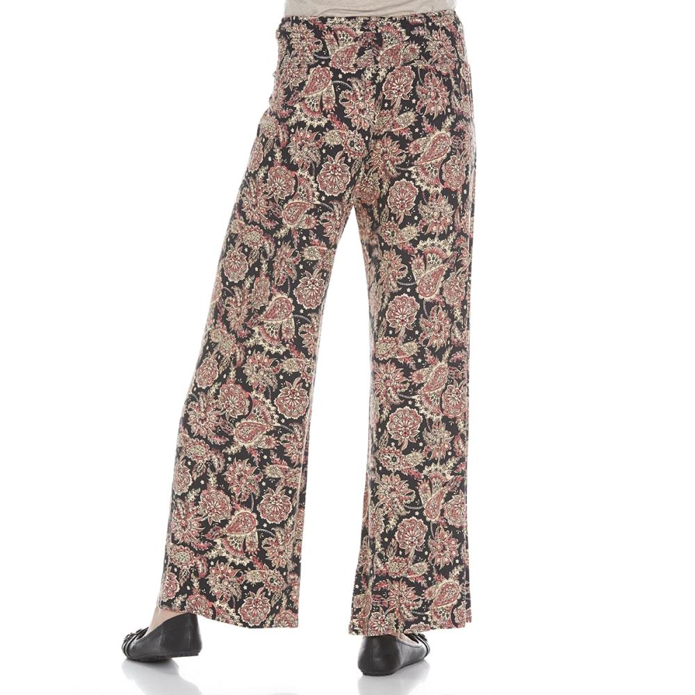 TAYLOR & SAGE Juniors' Printed Knit Palazzo Pants - TAR-TAR