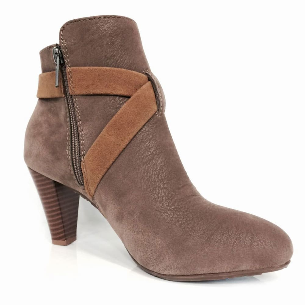 GROOVE Women's Rio Booties - TAUPE