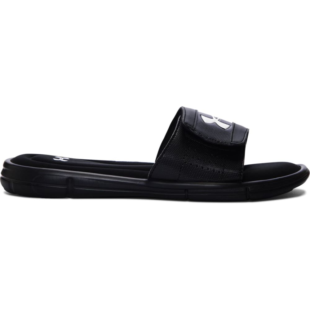 UNDER ARMOUR Men's Ignite Slide Sandals - BLACK/WHITE-001