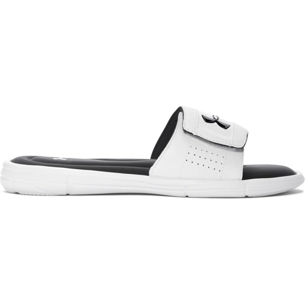 UNDER ARMOUR Men's Ignite Slide Sandals - WHITE