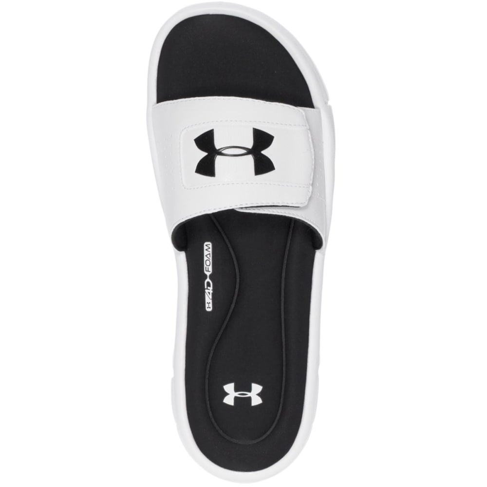 UNDER ARMOUR Men's Ignite Slide Sandals - WHITE