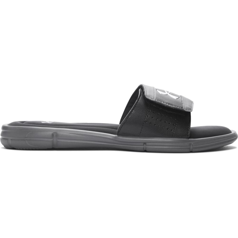 UNDER ARMOUR Men's Ignite Slide Sandals - GREY