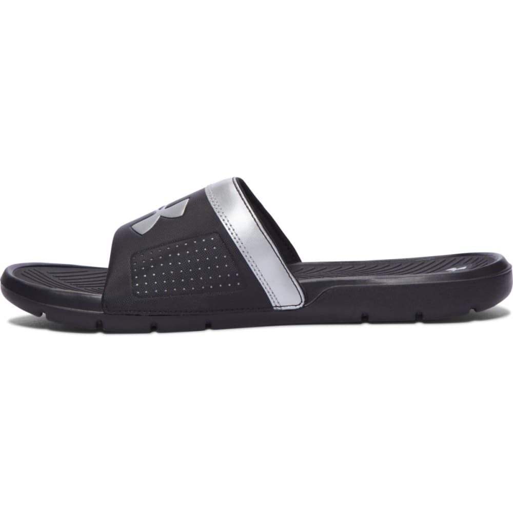 UNDER ARMOUR Men's Playmaker VI Slides - BLACK