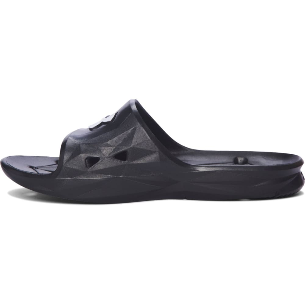 UNDER ARMOUR Men's Locker III Slides - BLACK
