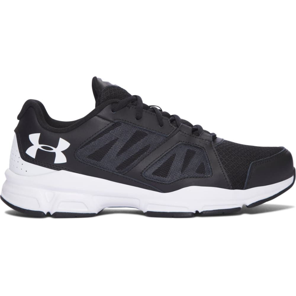 UNDER ARMOUR Men's Zone 2 Training Shoes, Wide - BLACK-WIDE