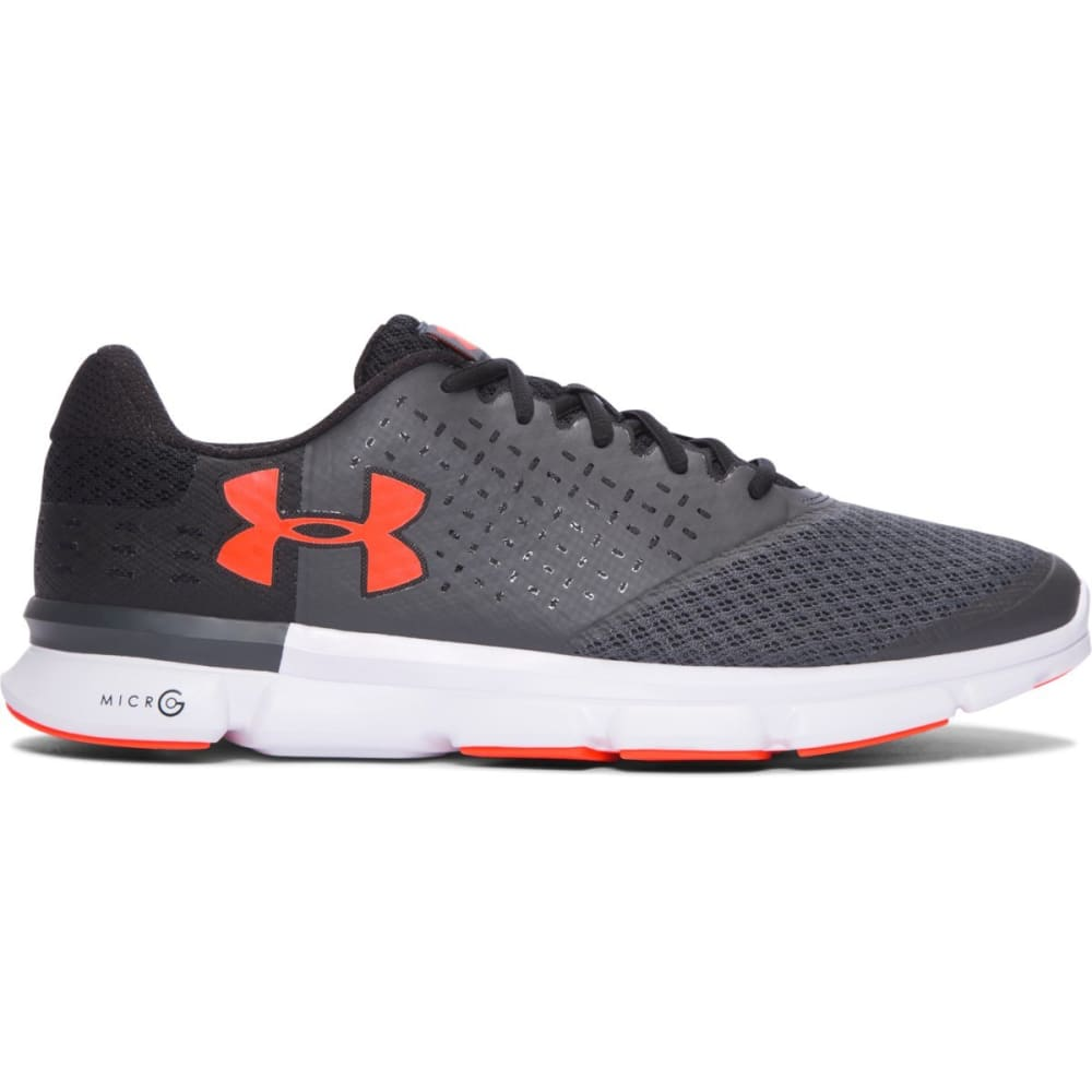 UNDER ARMOUR Men's Micro G Speed Swift 2 Running Shoes - BLACK