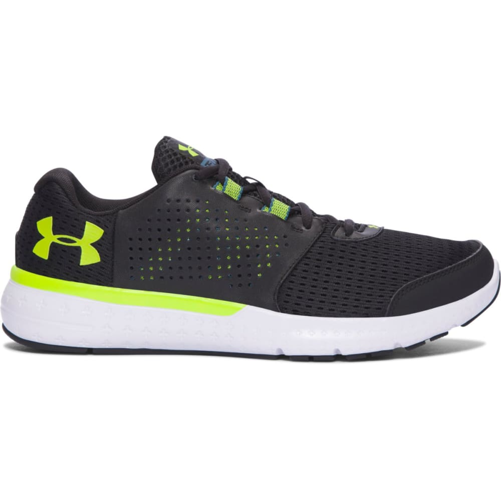UNDER ARMOUR Men's Micro G Fuel Running Shoes - BLACK