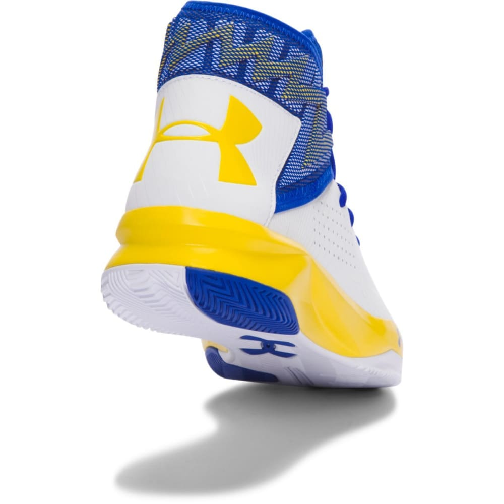 UNDER ARMOUR Men's Rocket 2 Basketball Shoes, Royal/Team Gold - ROYAL BLUE
