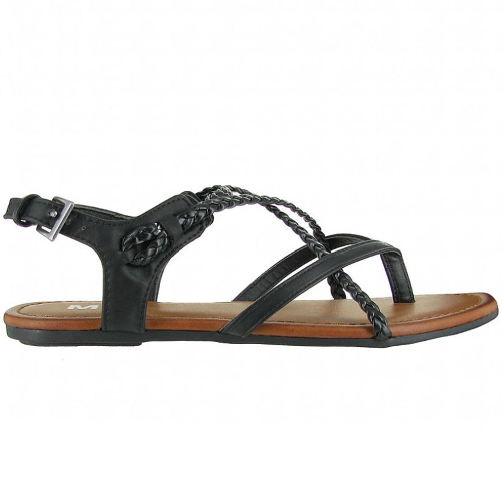MIA Women's Adrianna Sandals - BLACK