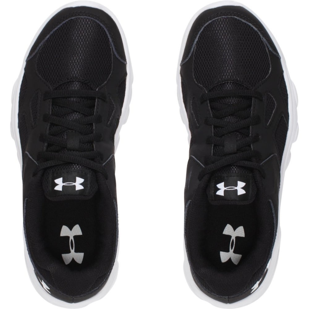 UNDER ARMOUR Boys' Pace RN Running Shoes - BLACK
