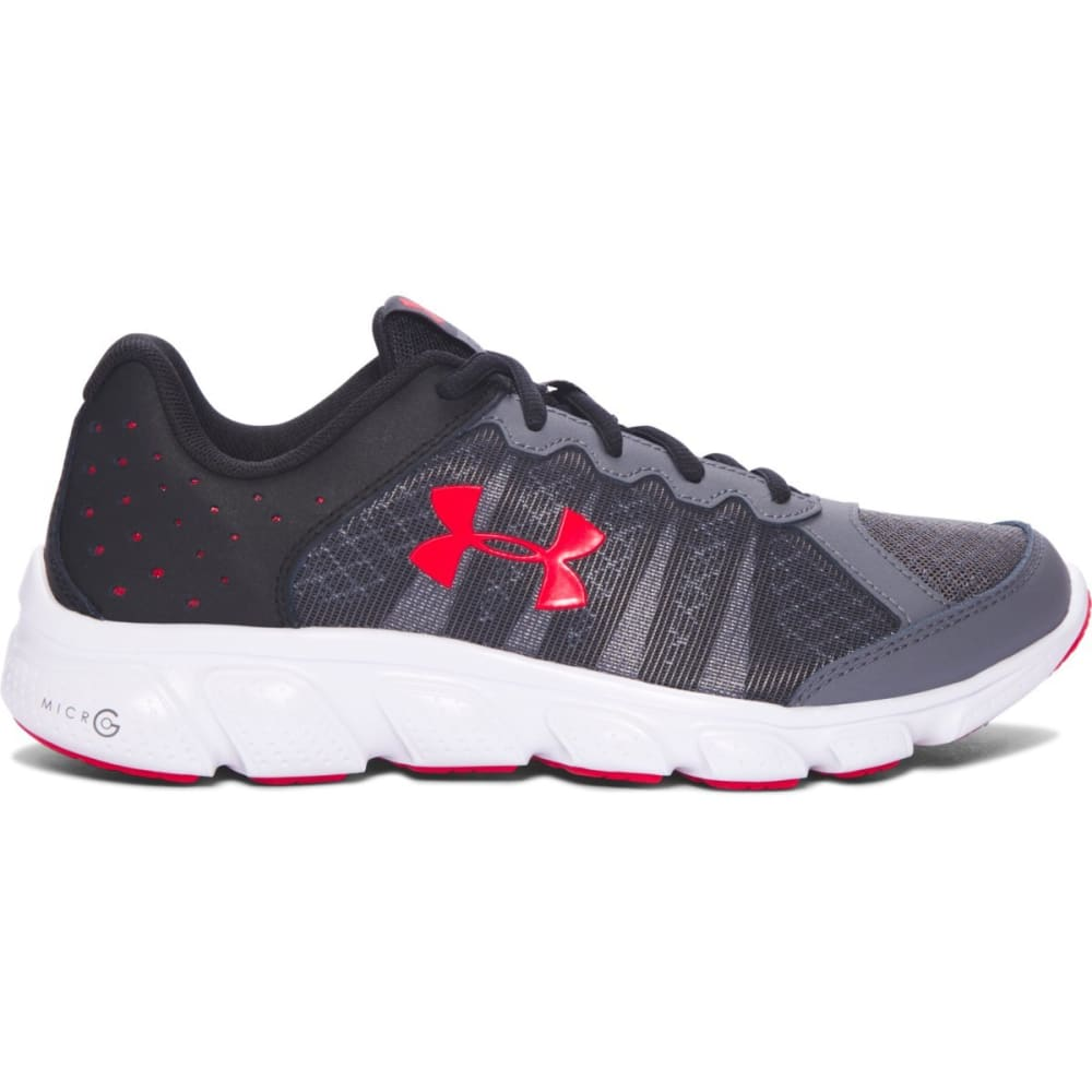 UNDER ARMOUR Boys' Grade School Micro G Assert 6 Shoes - RHINO