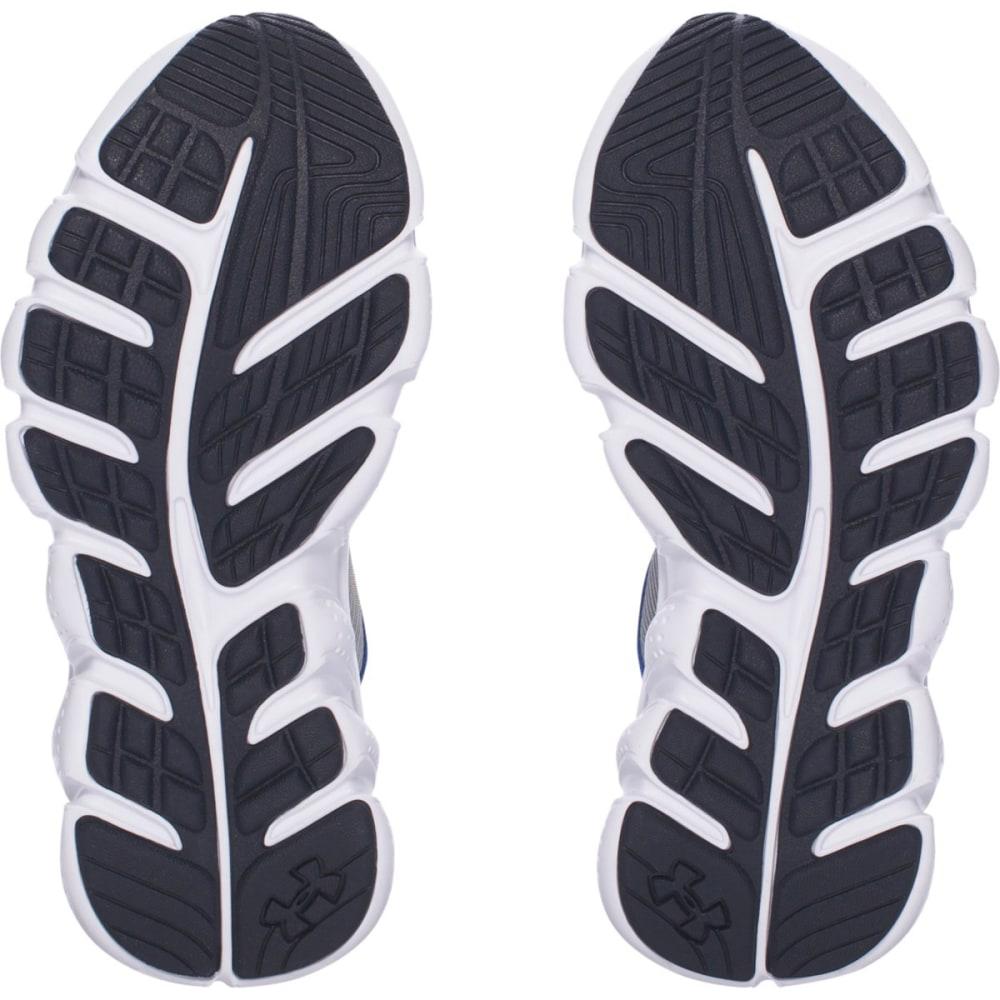 UNDER ARMOUR Boys' Pre-School Micro G Assert 6 Running Shoes, Steel/Ultra Blue/Midnight Navy - STEEL