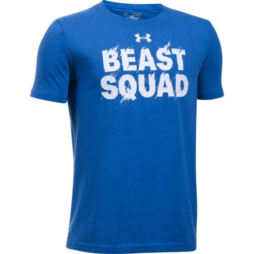 UNDER ARMOUR Boys' Beast Squad Short-Sleeve Tee - 907 ULTRA BLUE