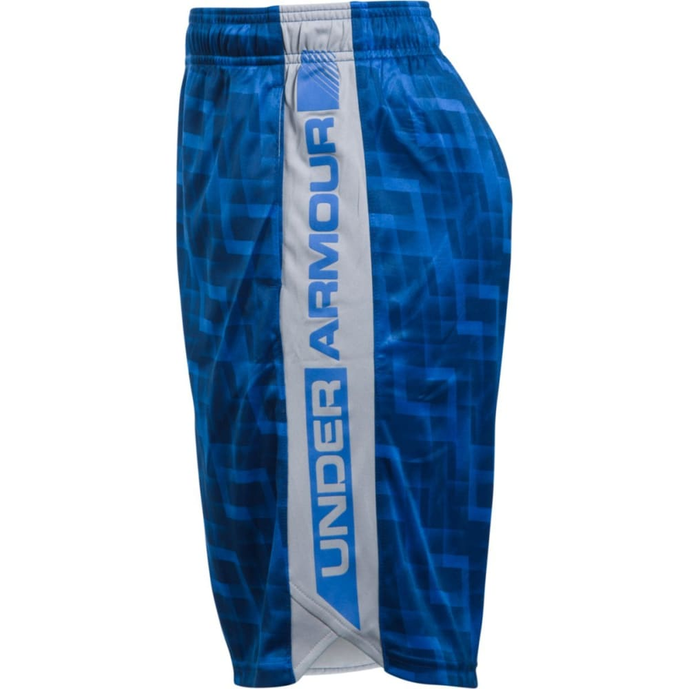 UNDER ARMOUR Boys' UA EIiminator Printed Short - 913 ULTRA BLUE