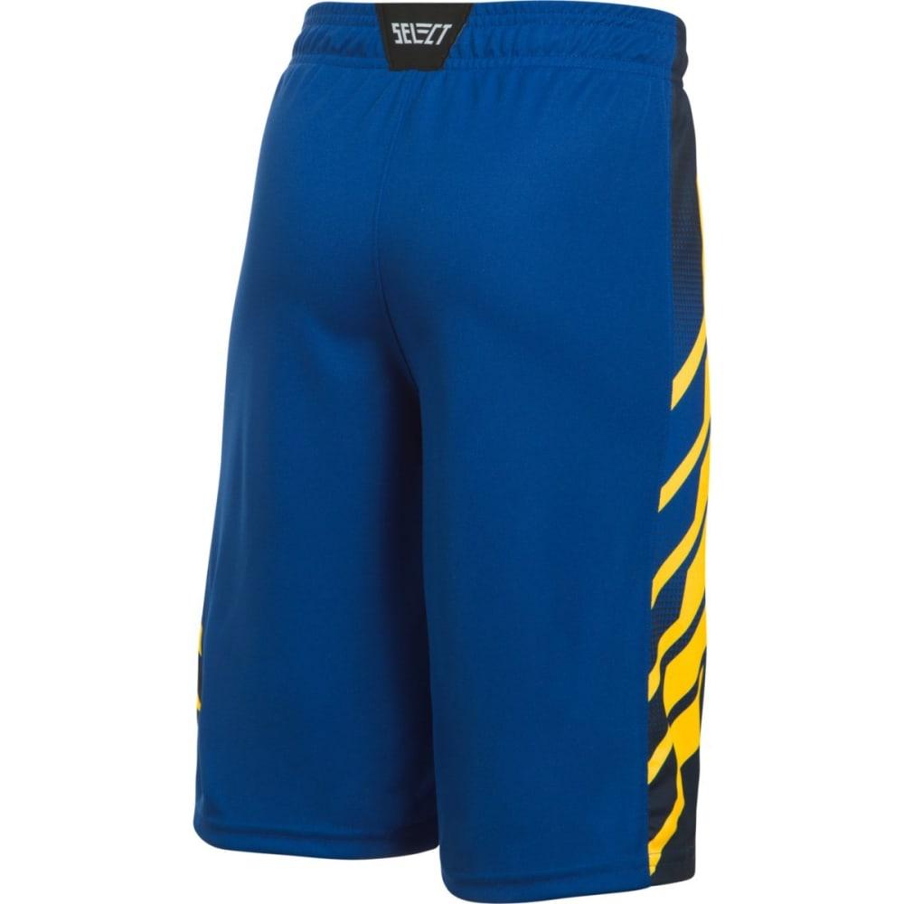 UNDER ARMOUR Boys' UA Select Basketball Shorts - 401-ROYAL/TAXI