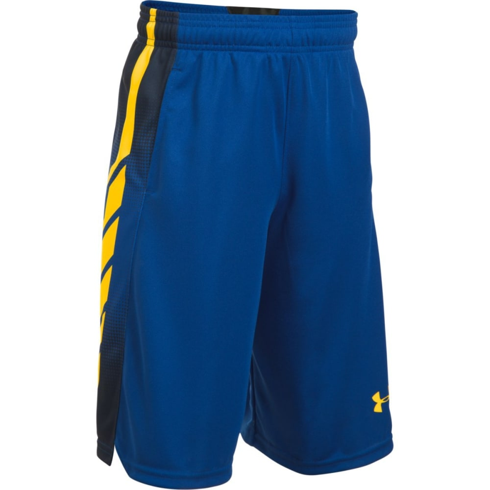 UNDER ARMOUR Boys' UA Select Basketball Shorts - 401-ROYAL/TAXI