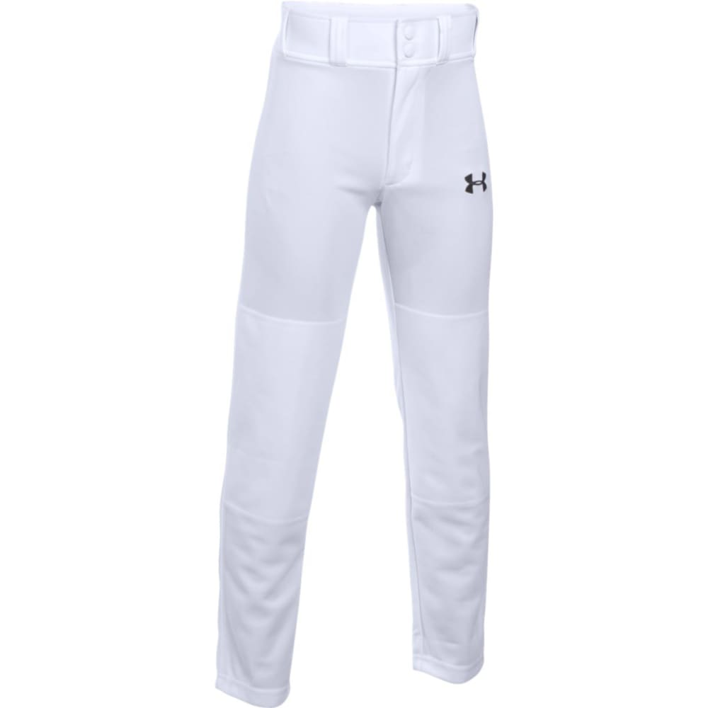 UNDER ARMOUR Boys' Clean Up Pant - 100 WHITE
