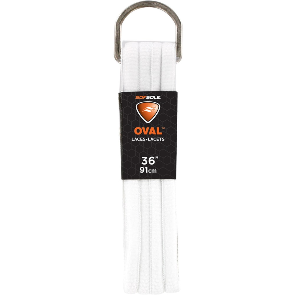 SOF SOLE 36 in. Athletic Oval Laces ONE SIZE