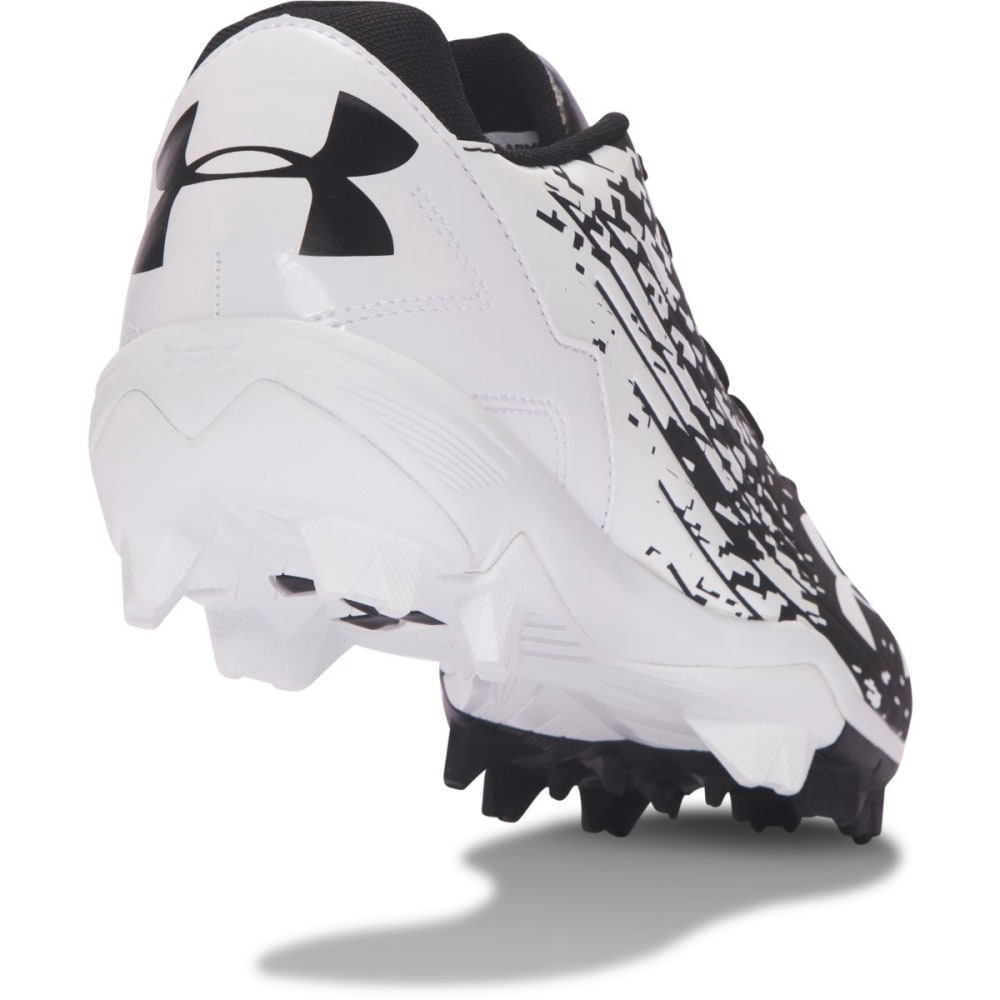 UNDER ARMOUR Men's Leadoff Low RM Baseball Cleats - BLACK