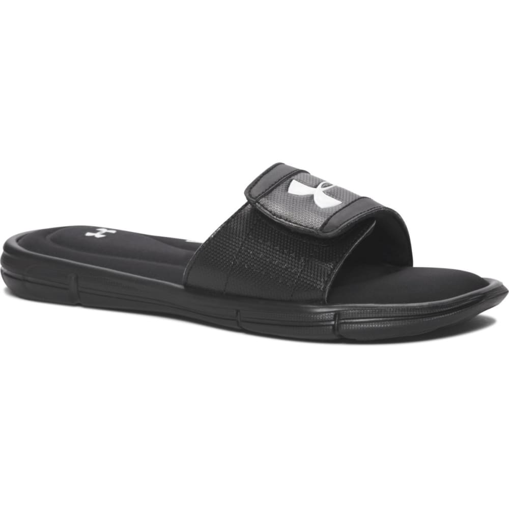 UNDER ARMOUR Boys' UA Ignite V Slides - BLACK