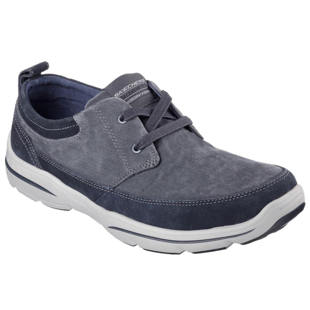 SKECHERS Men's Relaxed Fit: Harper – Lenden Shoes - NAVY