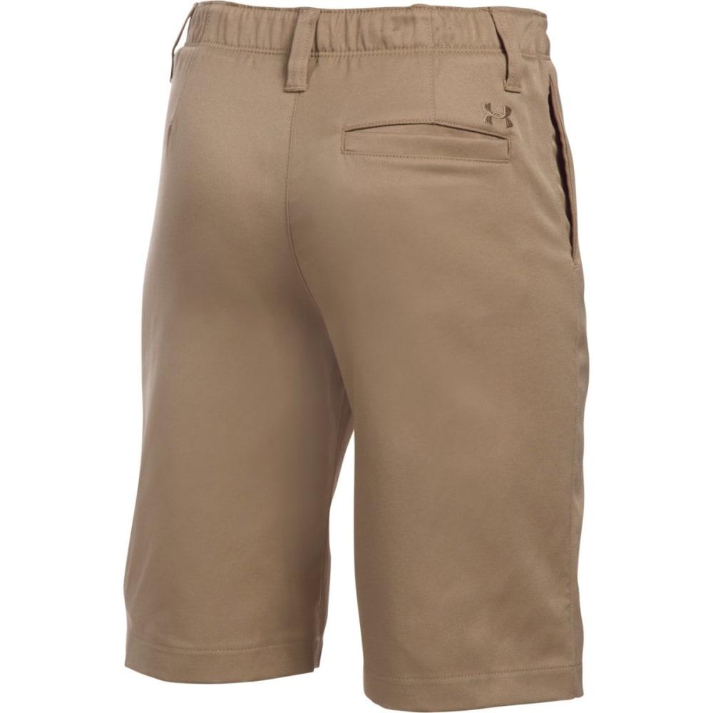 UNDER ARMOUR Boys' Match Play Golf Shorts - 254-CANVAS