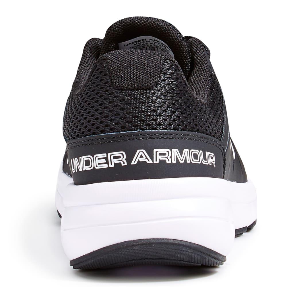 UNDER ARMOUR Women's Dash RN 2 Running Shoes, Black - BLACK/WHITE