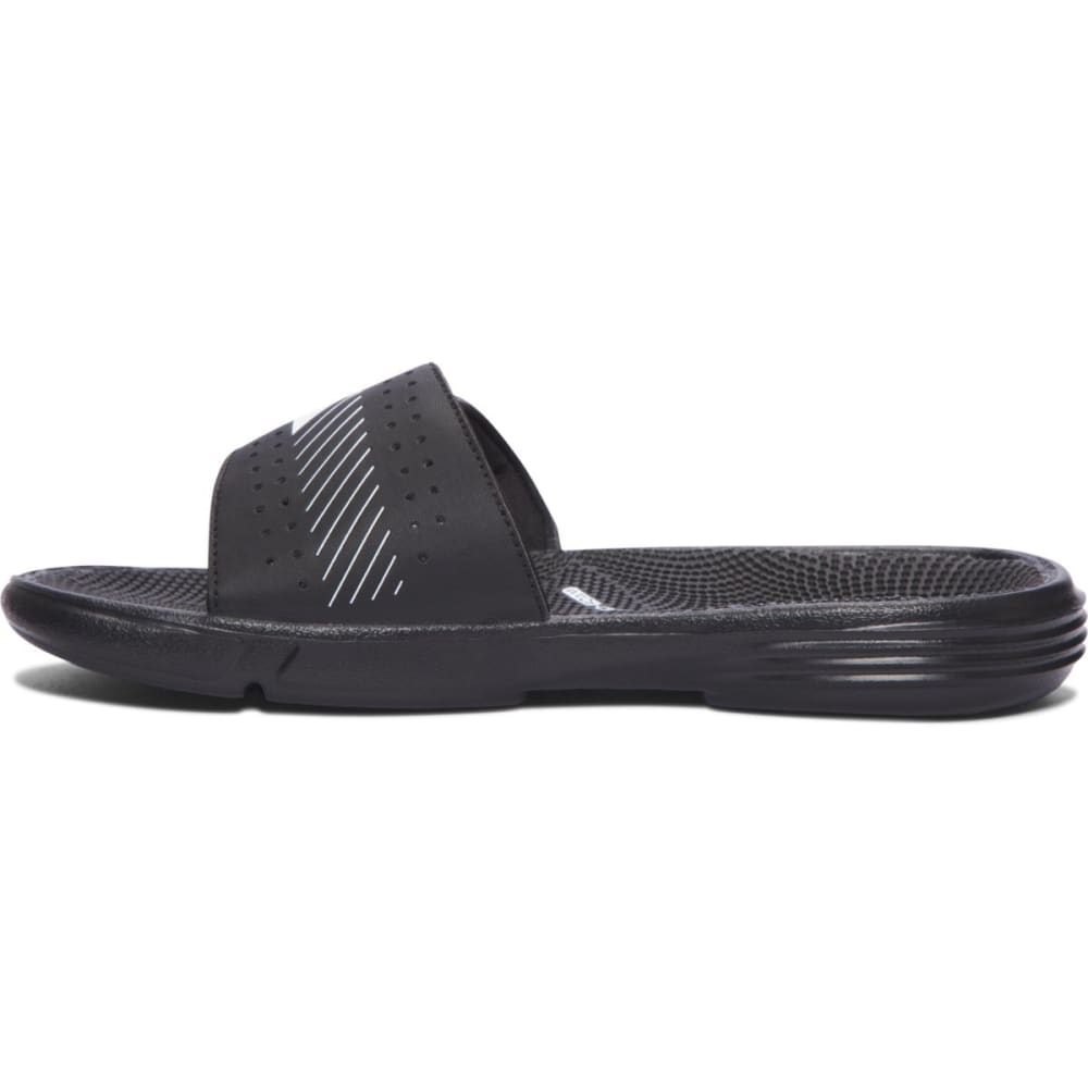 UNDER ARMOUR Women's UA Micro G EV Slides - BLACK