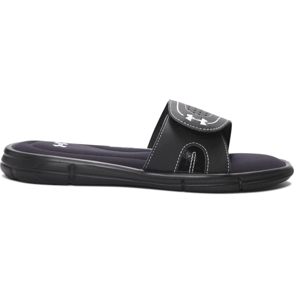 UNDER ARMOUR Women's UA Ignite VII Slides - BLACK-001