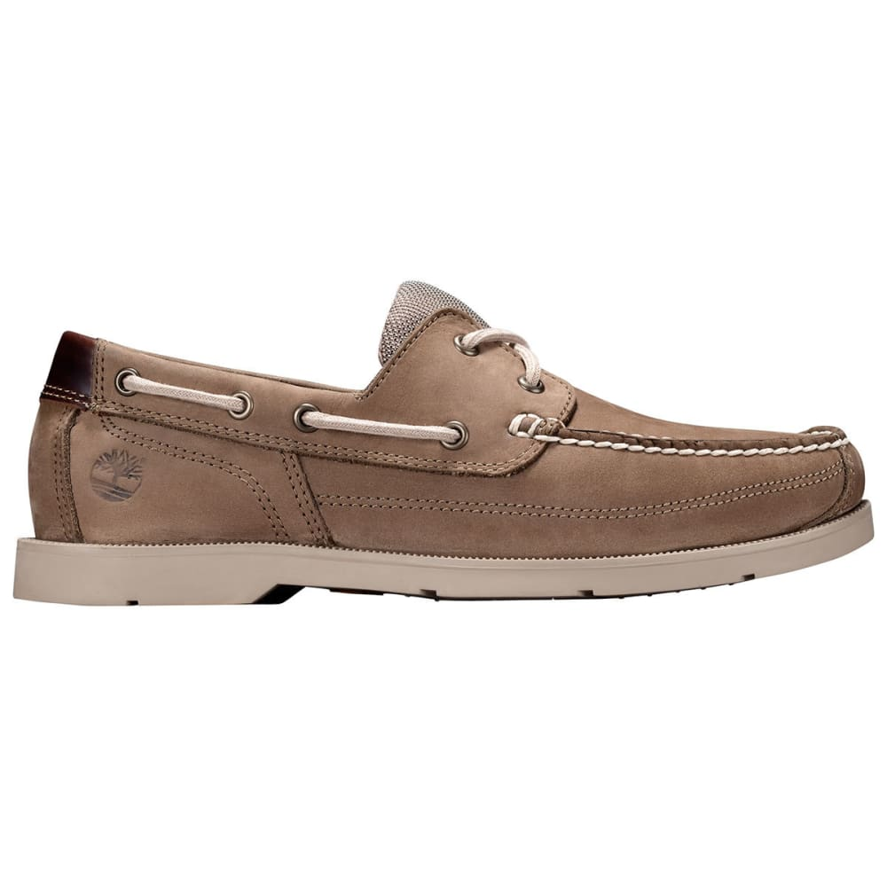 TIMBERLAND Men's Piper Cove Boat Shoes, Light Brown, Wide - LIGHT BROWN