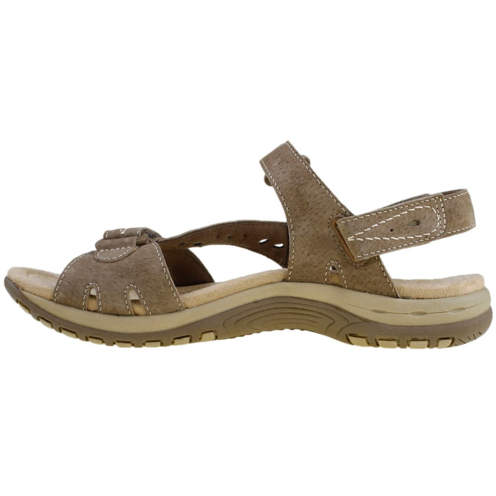 EARTH ORIGINS Women's Sophie Sandals, Wide - SUDAN BROWN