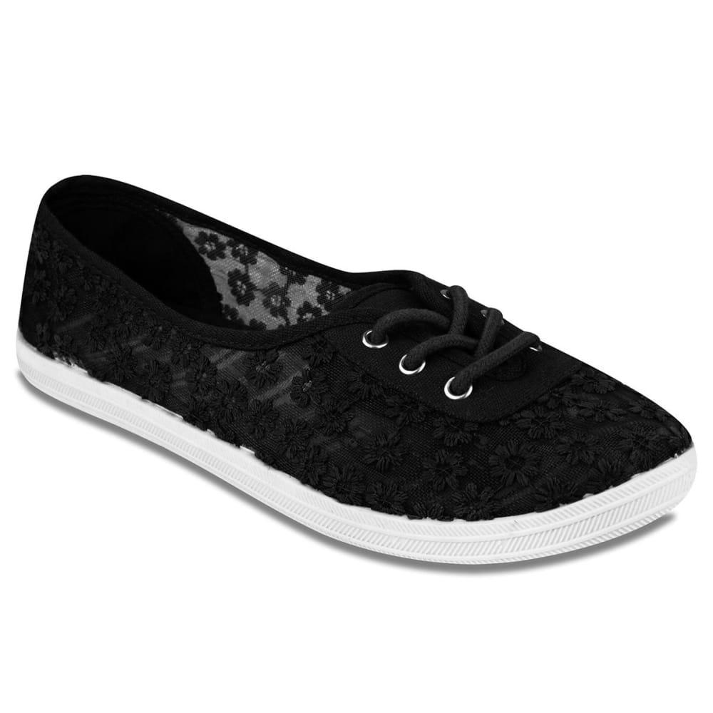 SUGAR Women's Sampson Sneakers - BLACK