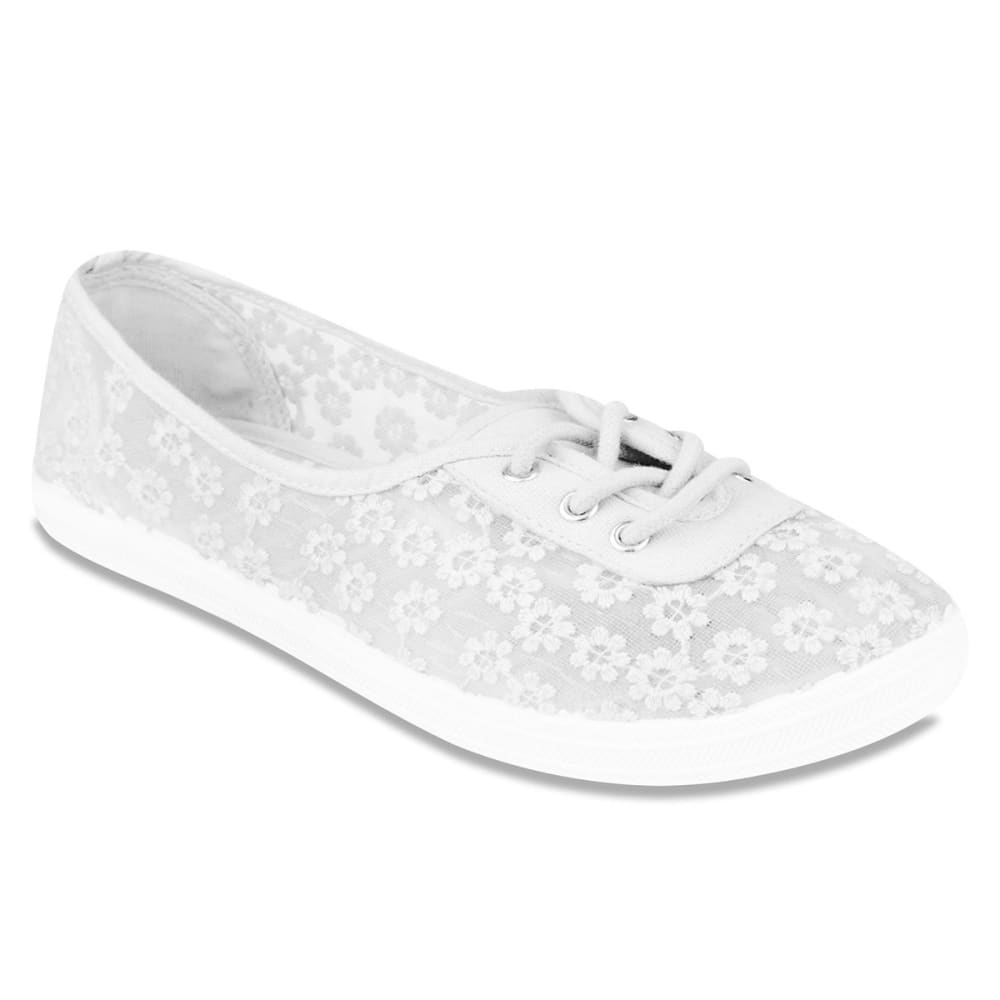 SUGAR Women's Sampson Sneakers - WHITE