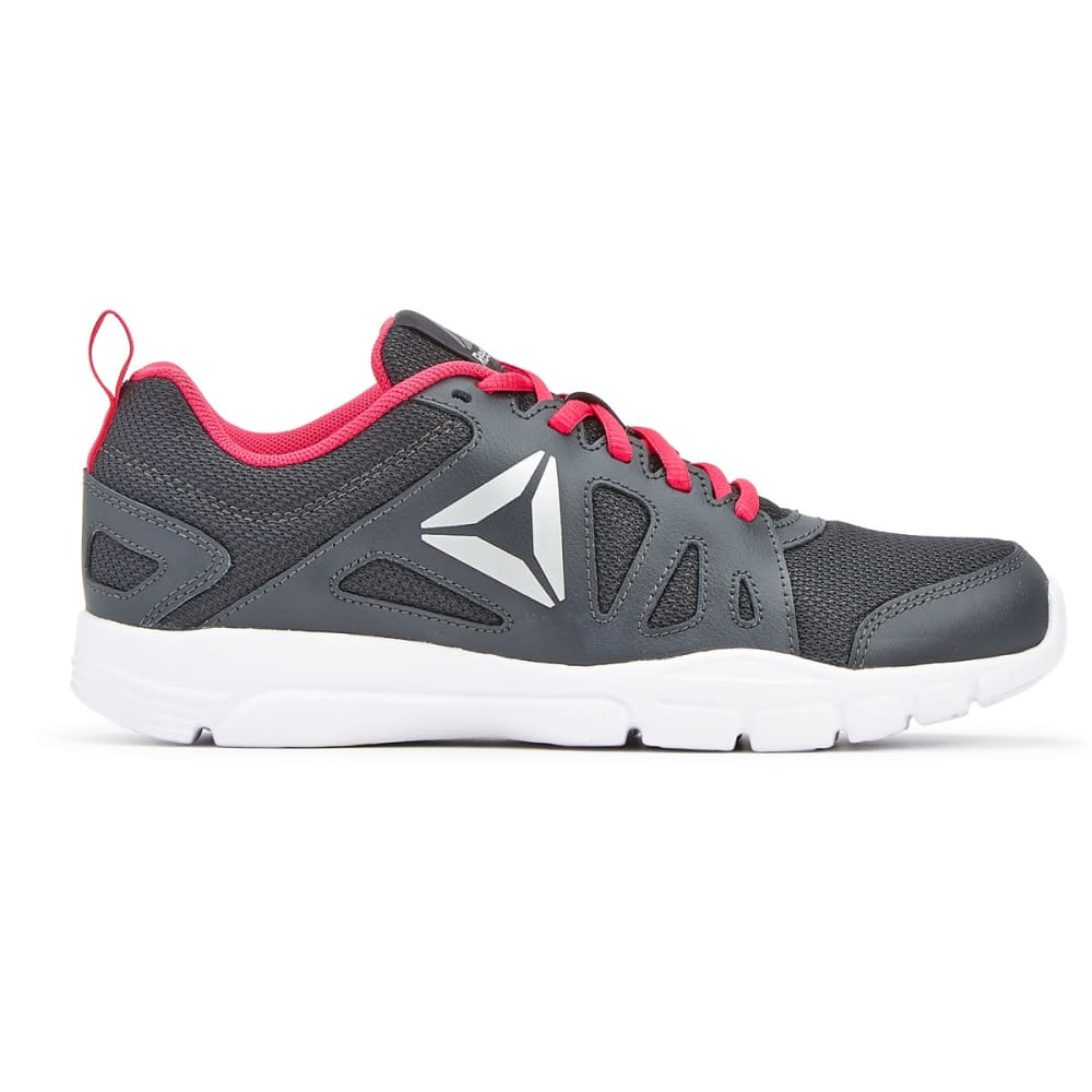 REEBOK Women's Trainfusion Nine 2.0 Sneakers - COAL/PINK CRAZE