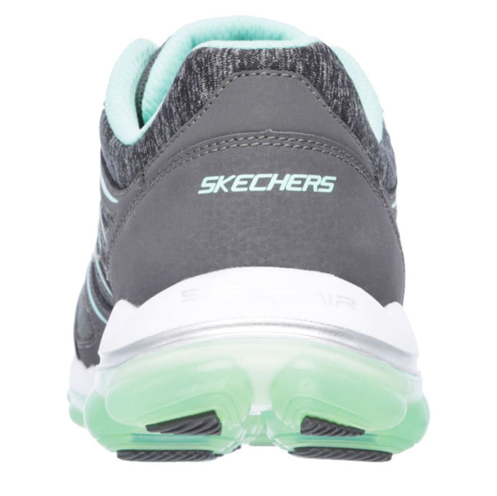 SKECHERS Women's Skech-Air 2.0 Sneakers - CHARCOAL/GREEN