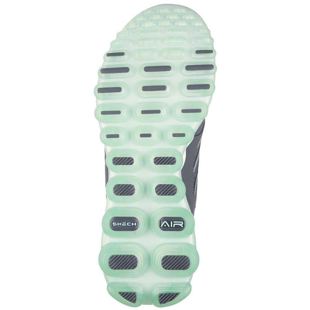 SKECHERS Women's Skech-Air 2.0 Sneakers - CHARCOAL/GREEN