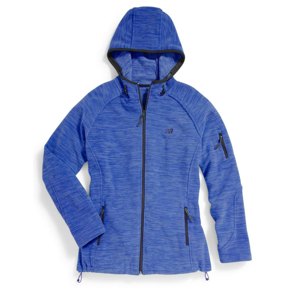 NEW BALANCE Women's Fleece Space-Dye Hoodie - GEM-PT207