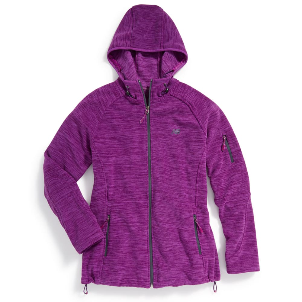 NEW BALANCE Women's Fleece Space-Dye Hoodie - IMPERIAL-PT148