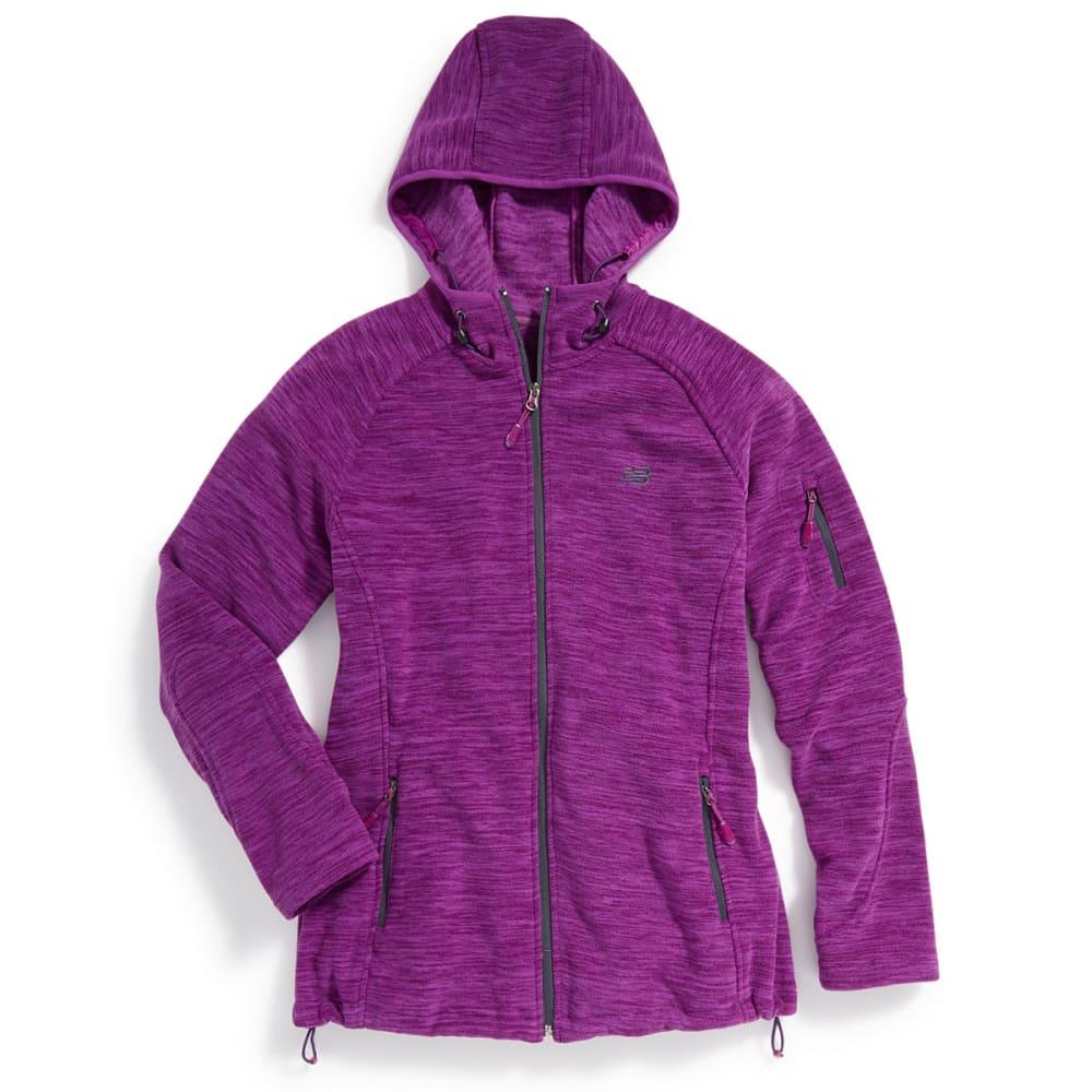 NEW BALANCE Women's Fleece Space-Dye Hoodie - IMPERIAL-PT148