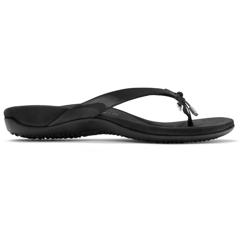 VIONIC Women's Bella Toe Post Sandal - BLACK